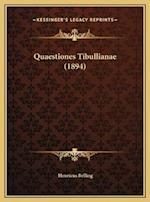 Quaestiones Tibullianae (1894) af Henricus Belling