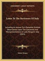 Letter to the Reviewers of Italy