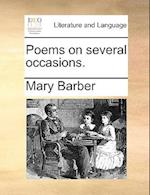 Poems on several occasions. af Mary Barber
