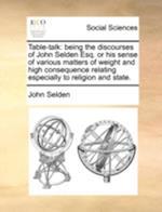 Table-Talk af John Selden