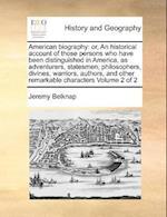 American Biography af Jeremy Belknap