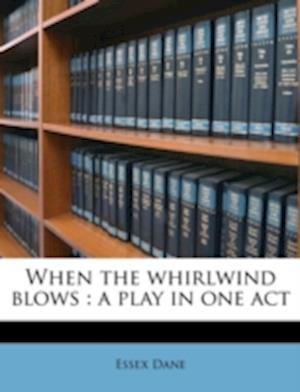 Bog, paperback When the Whirlwind Blows af Essex Dane