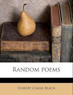Random Poems af Hibbert Crane Black