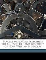Maclay Memorial af Orrin B. Judd