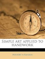 Simple Art Applied to Handwork