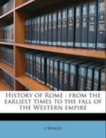 History of Rome af E. Berkley
