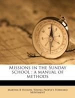Missions in the Sunday School af Young People Movement, Martha B. Hixson