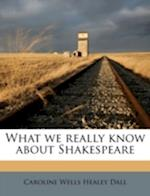 What We Really Know about Shakespeare