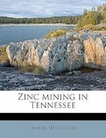Zinc Mining in Tennessee af Samuel W. Osgood