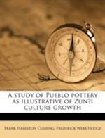 A Study of Pueblo Pottery as Illustrative of Zun I Culture Growth