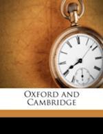 Oxford and Cambridge af Hanslip Fletcher