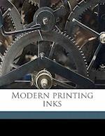 Modern Printing Inks af Alfred Seymour