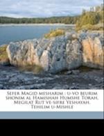 Sefer Magid Mesharim af Shemuel Berzik, Joseph Ben Ephraim Karo