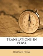 Translations in Verse af Helena C. Frank