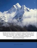 Morceaux Choisis; Traduction Inedite de H. Barthe af H. Barthe, Lope de Vega