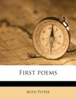 First Poems af Ruth Pitter