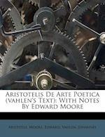 Aristotelis de Arte Poetica (Vahlen's Text)
