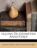 Lecons de Geometrie Analytique