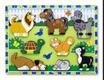 Pets Chunky Puzzle (Melissa Doug Fresh Start)