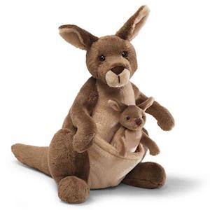 """Jirra 10"""" Kangaroo Plush"""