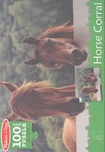 Horse Corral Cardboard Jigsaw