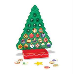 Bog, ukendt format Countdown to Christmas Wooden Advent Calendar af Doug, Melissa