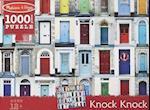 Knock Knock Cardboard Jigsaw