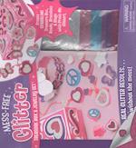 Mess Free Glitter Treasure Box & Jewelry Set