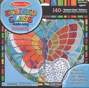 Bog, ukendt format Stained Glass Made Easy Butterfly af Doug, Melissa