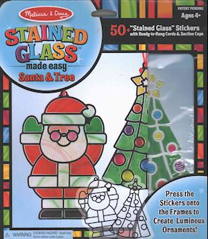 Bog, ukendt format Stained Glass Made Easy Santa & Tree Ornaments af Doug, Melissa