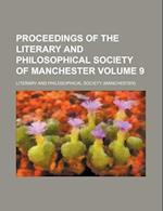 Proceedings of the Literary and Philosophical Society of Manchester Volume 9 af Literary And Philosophical Society