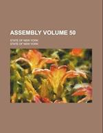 Assembly Volume 50; State of New York af State Of New York