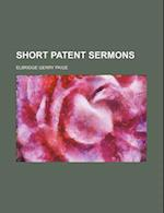 Short Patent Sermons af Elbridge Gerry Paige