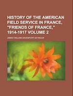 History of the American Field Service in France,