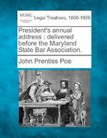 President's Annual Address af John Prentiss Poe