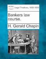 Bankers Law Course.