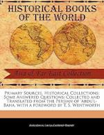 Primary Sources, Historical Collections af Abdulbah, Laura Clifford Barney