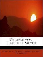 George von Lengerke Meyer