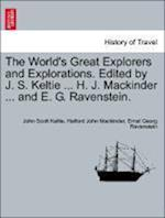 The World's Great Explorers and Explorations. Edited by J. S. Keltie ... H. J. Mackinder ... and E. G. Ravenstein. Palestine. af Halford John Mackinder, John Scott Keltie, Ernst Georg Ravenstein