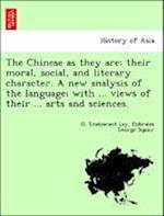 The Chinese as They Are