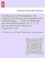 Architecture at Ahmedabad, the Capital of Goozerat, Photographed by Colonel Biggs, ... with an Historical and Descriptive Sketch, by T. C. H., ... and Architectural Notes by J. Fergusson, Etc. af Sir Theodore Cracraft Hope, Thomas Biggs, James Fergusson