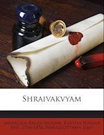 Shraivakvyam af Janardan Balaji Modak, 1766-1856 Purushottama Kavi, Kintha Naraya Sne