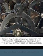 Essays on Philosophical Subjects af Joseph Black, Dugald Stewart, Adam Smith