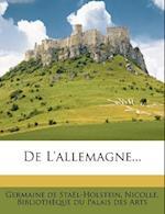 de L'Allemagne... af Nicolle, Germaine De Sta L-Holstein