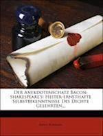 Der Anekdotenschatz Bacon-Shakespeare's