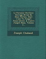 Le Parnasse Chretien af Joseph Chabaud