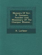 Memoirs of REV. W. Ziemann