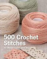 500 Crochet Stitches af Erika Knight