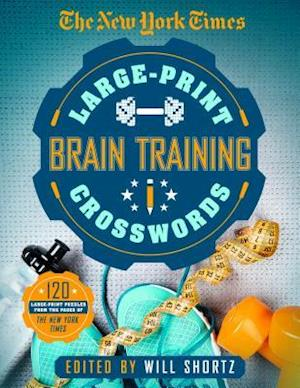 Bog, paperback The New York Times Large-Print Brain-Training Crosswords af New York Times