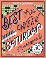 The New York Times Best of Saturday Crosswords (New York Times Crossword Puzzles)